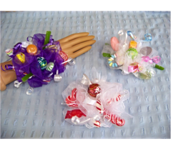 CANDY CORSAGE in Claremont NH, Colonial Florist