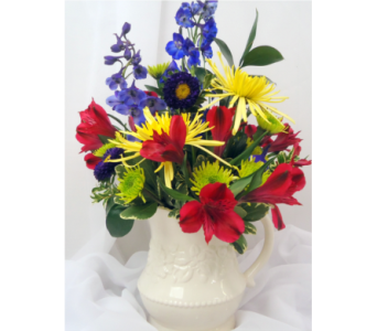 Fill A Cup With Color! in Saratoga Springs NY, Dehn's Flowers & Greenhouses, Inc