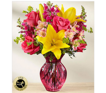 The FTD� Happy Spring� Bouquet in Manchester MD, Main St Florist Of Manchester, LLC