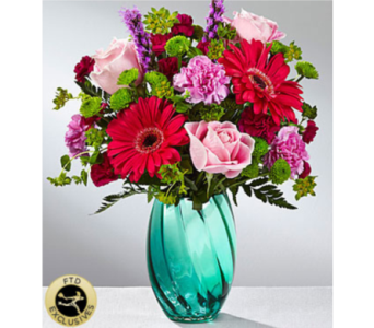 The FTD® Spring Skies™ Bouquet in Chelsea MI, Chelsea Village Flowers