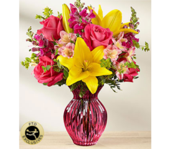 The FTD� Happy Spring� Bouquet in Chelsea MI, Chelsea Village Flowers