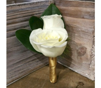 Spray Rose Boutonniere in Richland MI, Bloomers