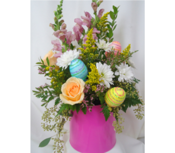 Pails of Posies For Easter! in Saratoga Springs NY, Dehn's Flowers & Greenhouses, Inc