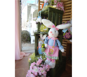 Bunnies and More! in Saratoga Springs NY, Dehn's Flowers & Greenhouses, Inc