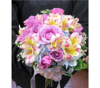 Pastel Prom Bouquet in Royersford PA, Three Peas In A Pod Florist