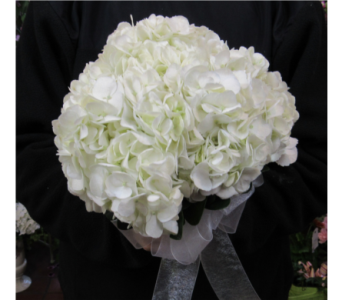 Hydrangea Prom Bouquet in Royersford PA, Three Peas In A Pod Florist