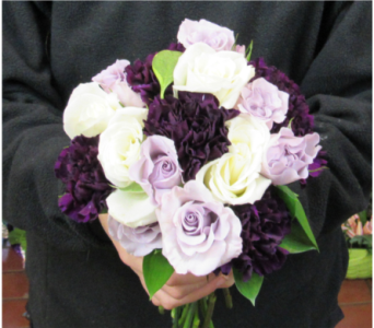Rose and Carnation Bouquet in Royersford PA, Three Peas In A Pod Florist