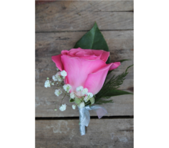 Deluxe Rose Boutonniere in Winchester VA, Flowers By Snellings