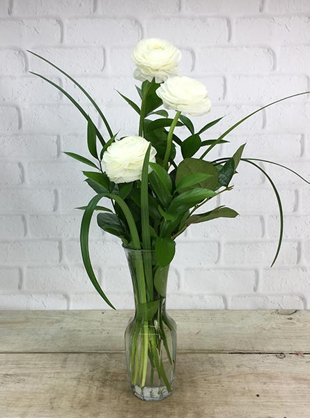 Simplicity in Raleigh NC, Johnson-Paschal Floral Company