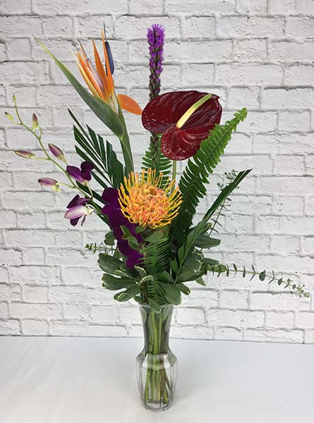 Tropical Beauty in Raleigh NC, Johnson-Paschal Floral Company
