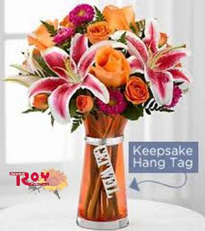 The Roy's Florist Get Well Bouquet in Cornwall ON, Fleuriste Roy Florist, Ltd.