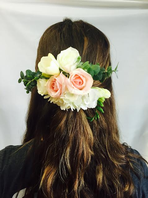Hair Crown Comb in West Los Angeles CA, Sharon Flower Design