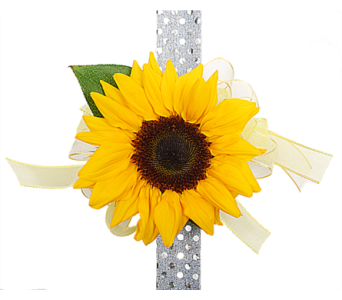 Sunflower Corsage in Madison WI, Felly's Flowers