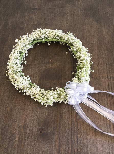 Baby's Breath Halo in Denver CO, Lehrer's Flowers