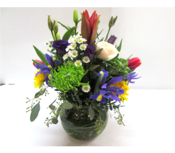 Spring Bowl in Worcester MA, Holmes Shusas Florists, Inc