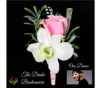 The Drake Boutonniere in Indianapolis IN, Steve's Flowers and Gifts