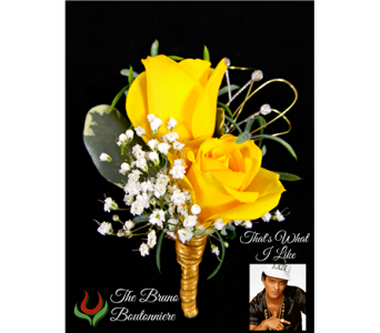 The Bruno Boutonniere in Indianapolis IN, Steve's Flowers and Gifts