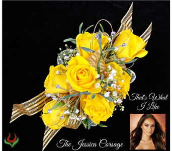 The Jessica Corsage in Indianapolis IN, Steve's Flowers and Gifts