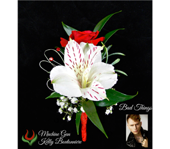 The MGK Boutonniere in Indianapolis IN, Steve's Flowers and Gifts