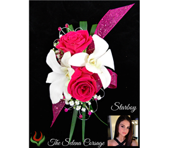 The Selena Corsage in Indianapolis IN, Steve's Flowers and Gifts