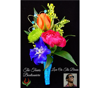 The Travis Boutonniere in Indianapolis IN, Steve's Flowers and Gifts