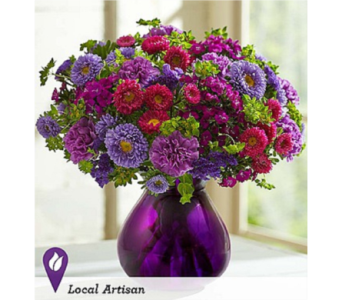 Lavender Joy Bouquet in Huntington WV, Archer's Flowers, Inc.