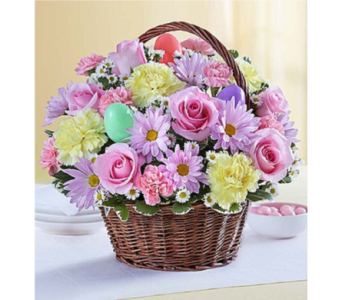 Easter Egg Basket in Huntington WV, Archer's Flowers and Gallery