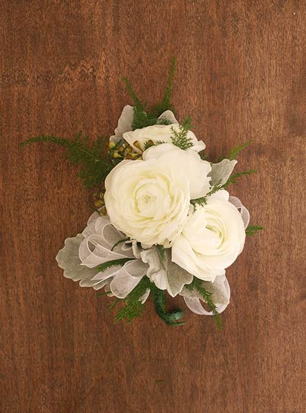 Ranunculus Corsage in Augusta GA, Martina's Flowers & Gifts