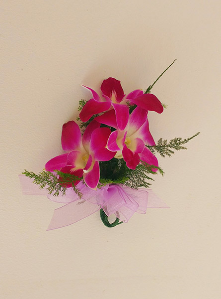Dendrobium Orchid Corsage in Augusta GA, Martina's Flowers & Gifts