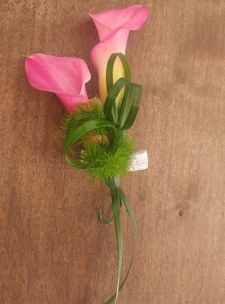 Calla Lily Corsage in Augusta GA, Martina's Flowers & Gifts