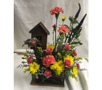 1st Sign of Spring in Fairfield OH, Novack Schafer Florist