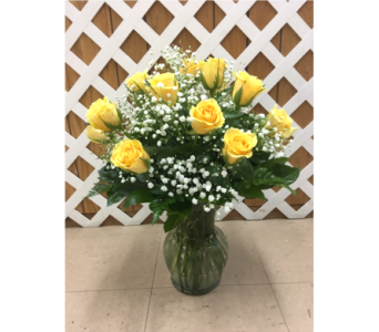 Roses with BB in Purcellville VA, Purcellville Florist
