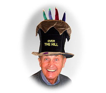 Over the Hill Hat by 1-800-balloons