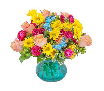 Flutter Your World in South Hadley MA, Carey's Flowers, Inc.