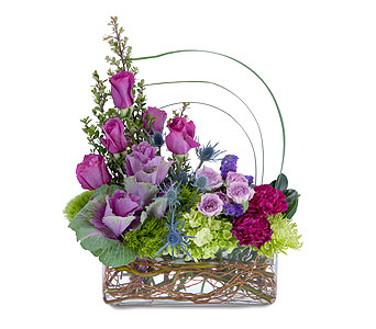 Magenta Magic in Muscle Shoals AL, Kaleidoscope Florist & Gifts