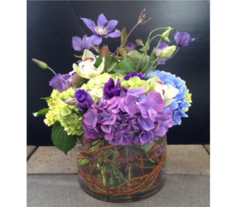 spring afternoon bouquet  in Bellevue WA, CITY FLOWERS, INC.