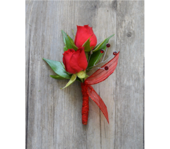 Sweetheart Boutonniere in Muskegon MI, Wasserman's Flower Shop