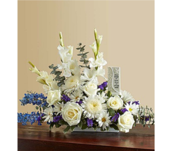 Beautiful Memories - Blue and White in Huntington WV, Archer's Flowers, Inc.