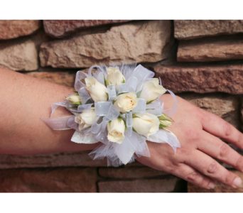 Classic Rose Corsage in Meridian ID, Meridian Floral & Gifts