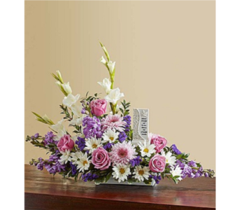 Beautiful Memories - Lavender and White in Huntington WV, Archer's Flowers, Inc.