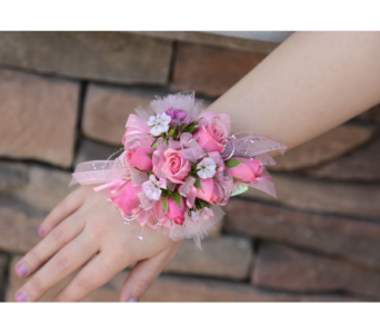 Pink Perfection Corsage in Meridian ID, Meridian Floral & Gifts