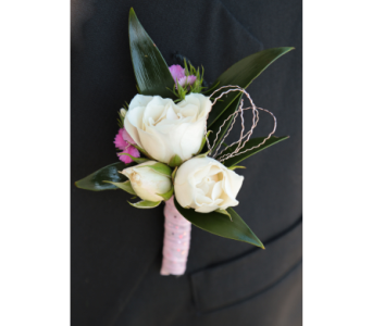 Pink Perfection Boutonniere  in Meridian ID, Meridian Floral & Gifts