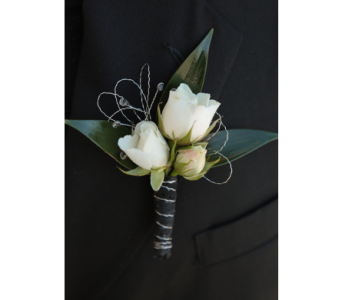 Classic Rose Boutonniere  in Meridian ID, Meridian Floral & Gifts