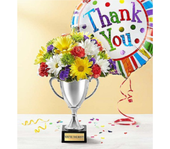 Trophy Bouquet To Say Thank You in Huntington WV, Archer's Flowers, Inc.