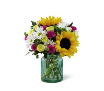 The FTD Sunlit Meadows Bouquet in Des Moines IA, Doherty's Flowers