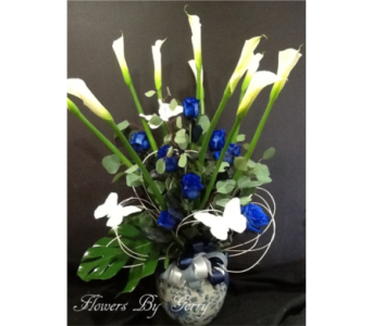 Blue Magic in Brentwood CA, Flowers By Gerry