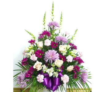 Lavender and White Traditional in Warren MI, Downing's Flowers & Gifts Inc.