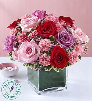 Forever Yours Rose Medley by Real Simple� in Ormond Beach FL, Simply Roses