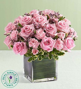 Pink Rose Fancy by Real Simple� in Ormond Beach FL, Simply Roses