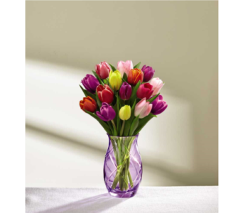 The FTD Spring Tulip Bouquet in Norfolk VA, The Sunflower Florist